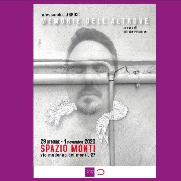 Alessandro Arrigo alla Rome Art Week 2020