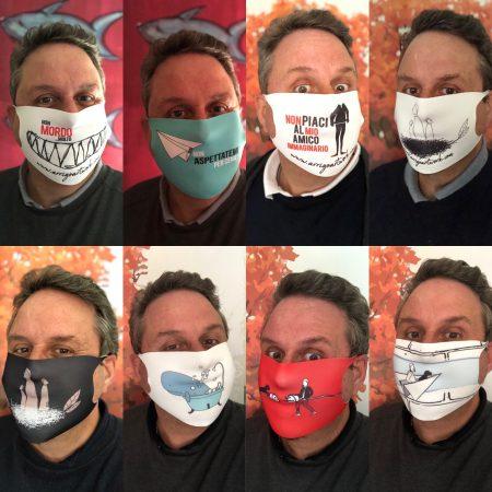 Le mascherine protettive ArrigoArtwork