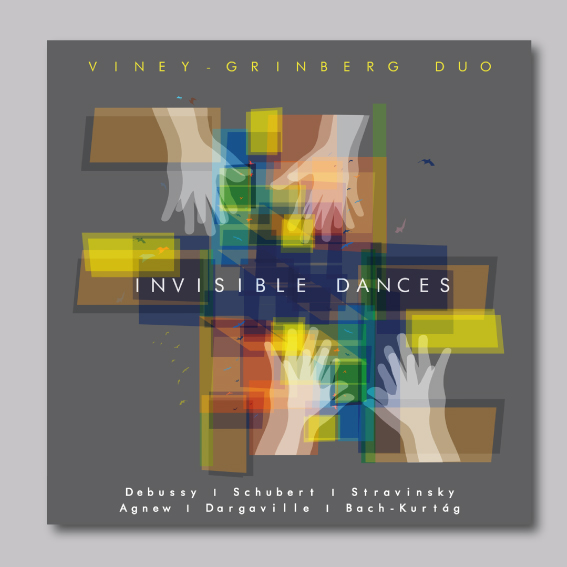 invisibles dances viney grinegerg duo cover art Alessandro Arrigo